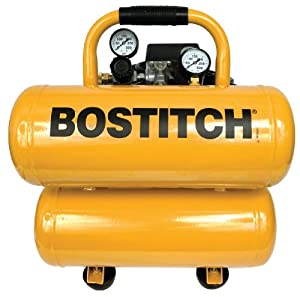 BOSTITCH CAP2040ST-OL 4 Gallon Oil-Lube Stack Tank Compressor