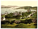 Victorian View of Killybegs, County Donegal, Ireland, Large A3 size 41 by 28 cm Canvas Textured Fine Art Paper Photo Print