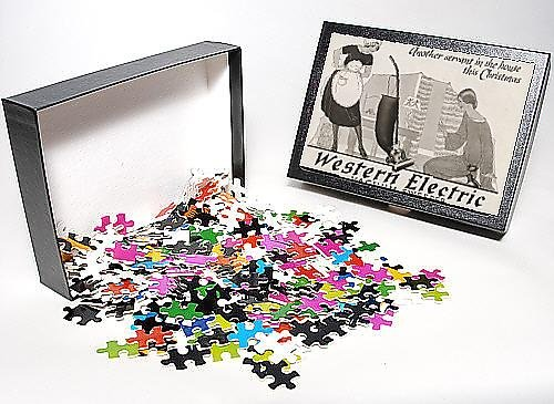Photo Jigsaw Puzzle Of Advert Vacuum Cleaner