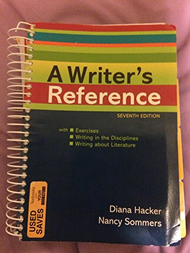 A Writer's Reference Diana Hacker