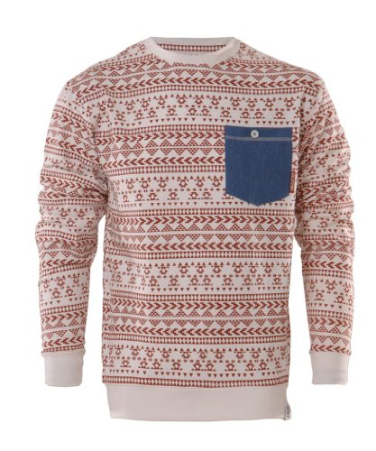 Men's Aztec Pixelated Sweatshirt