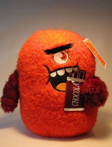 Cute Plush Monster - 10 inch Schmorg (orange) - 1
