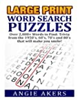 Large Print Word Search Puzzles: Over...