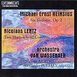 ハインシウス:6つの交響曲作品 2 他