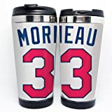 Major League Baseball Minnesota Twins Morneau jersey #33 Travel Mug Stainless Steel, 16 Ounce at Amazon.com
