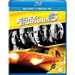 Fast & Furious 6 - Extended Edition [Blu-ray]