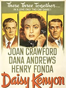 ADVERTISING MOVIE FILM DAISY KENYON CRAWFORD FONDA ART POSTER PRINT 18x24 INCH LV1015