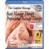 Complete Massage Pack plus Workbook and music CD: Basic & Professional Massage Therapy plus free bonus movie So... 2008