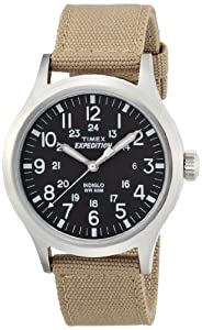 Timex T49962 Mens Expedition Scout Tan Watch