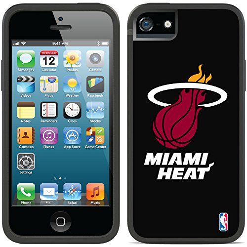 Coveroo iPhone 5/5S Black Switchback Case with Miami Heat White Text Design (Miami Heat Iphone 5s Case compare prices)