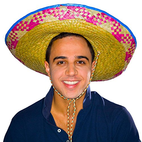 Embroidered Sombrero, Colors May Vary