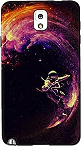DailyObjects Space Surfing Case For Samsung Galaxy Note 3
