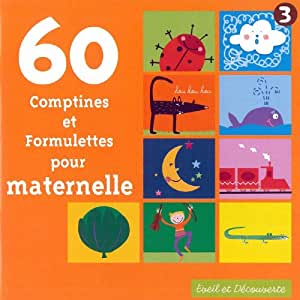 60 Comptines Et Formulettes Pour Crèches / 60 Comptines Et Formulettes Pour Maternelles (Coffret 2 CD)