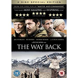 The Way Back: Special Edition + DVD Exclusive Bonus Features Including 'The Making' & Interviews (2 Disc Set) [DVD]