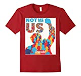 Bernie Sanders - Not Me Us - Male XL - Cranberry