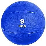 VIRTUOUS Unisex Rubber Medicine Ball 9000 gm Blue