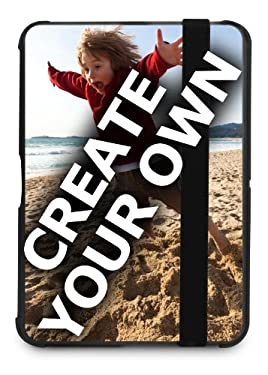 "Kindle Fire HD 7"" Marware Folio Microshell Black Cover- 'Create Your Own'"