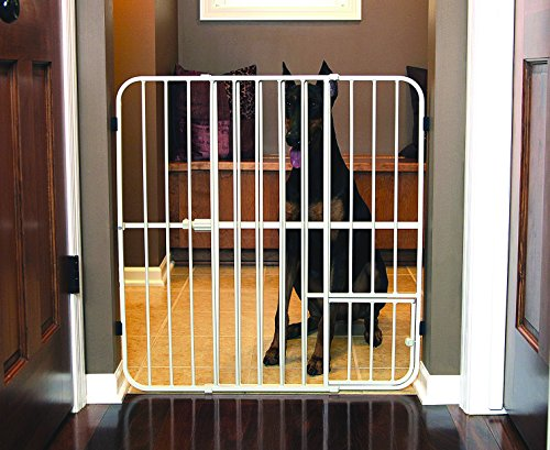 Carlson Extra Tall Metal Expandable Pet Gate (Baby Gate Pet Door compare prices)