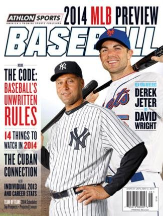 2014 Athlon Sports MLB Baseball Preview Magazine- New York Yankees/New York Mets Cover at Amazon.com