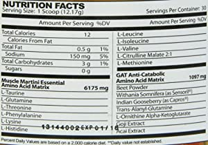 Gat Muscle Martini Supplement