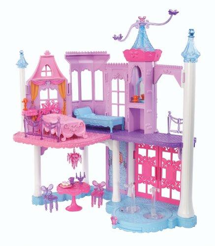 y mattel  barbieprincess fairy castle