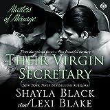 Their Virgin Secretary: Masters of Menage, Book 6