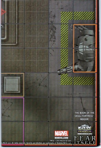 Heroclix Fear Itself The Book of the Skull Fortress LE Indoor Map