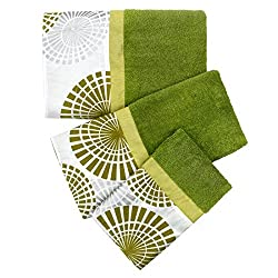 Popular Bath Bonnie 3 Piece Towel Set, Lime