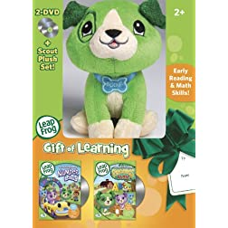 Leapfrog Gift of Learning 2 DVD & Plush Gift Set - DVD