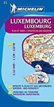 Luxembourg City Plan 11 (Michelin City Plans)