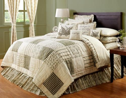 Meadowsedge Twin Patchwork Quilt Bed Skirt front-897493