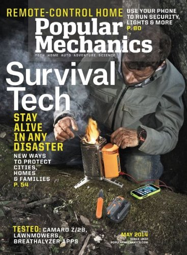 Popular Mechanics Magazine (May 2014)