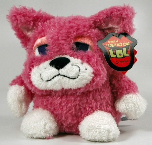 "Aurora Plush LOL Pink Cat 8"" by Aurora"