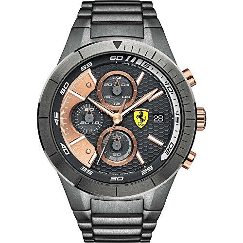 Ferrari Scuderia cronografo Reloj deportivo para hombre modelo FER0830304 Red