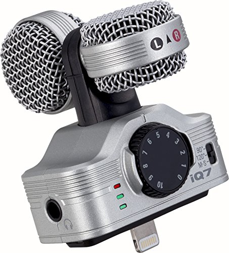 Zoom iQ7 Mid-Side Stereo Microphone for iOS Devices thumbnail