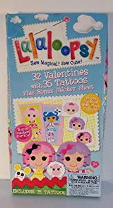 Amazon.com: Lalaloopsy Valentine's Day Cards (32 Sticker
