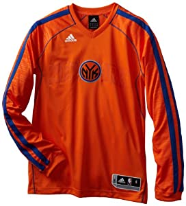 NBA New York Knicks On-Court Shooting Jersey by adidas