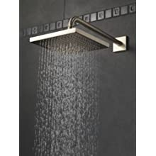 Delta 57740-SS Universal Showering Components, Touch-Clean Raincan Showerhead Assembly, Stainless