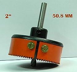HSS METAL CUTTING HOLE SAW CUTTER (2) 50.8 MM - SHARP