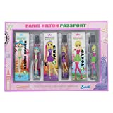 Paris Hilton Passport Gift Set - 3 x 7.5ml Tokyo/Paris /South Beach edt by Paris Hilton