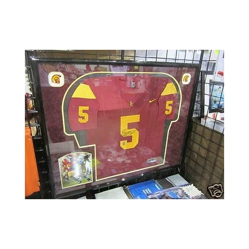 Signed Reggie Bush Jersey - USC & FRAMED - Autographed College Jerseys at Amazon's Sports