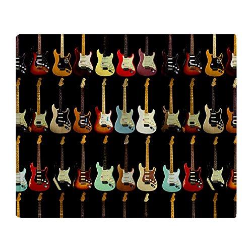 Guitar Fleece Blanket front-724405