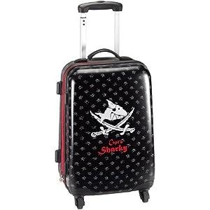 die spiegelburg hardshell trolley suitcase capt 39 n sharky. Black Bedroom Furniture Sets. Home Design Ideas