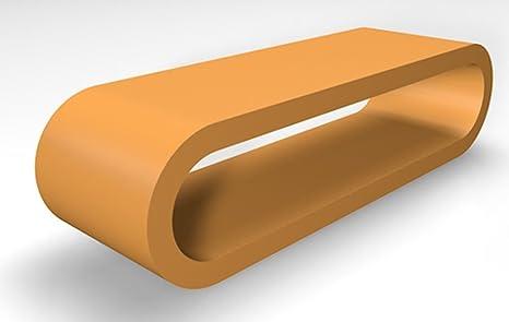 Retro-Stil Design-Reifen Große Bernstein Matt Couchtisch / TV-Ständer 110 cm Breite