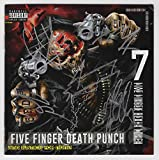 """Five Finger Death Punch""""and Justice for None"""" [Deluxe Edition] Autographed CD booklet - signed IN SILVER by all 5 members. Certificate of Authenticity (COA)."""
