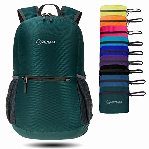 ZOMAKE-Waterproof-Ultra-Lightweight-Packable-Backpack-Hiking-DaypackSmall-Backpack-Handy-Foldable-Camping-Outdoor-Backpack-Little-Bag