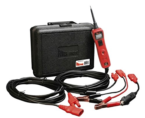 Power Probe III w/Case & Acc - Red (PP319FTCRED) [Car Automotive Diagnostic Test Tool, Digital Volt Meter, AC/DC Current Resistance, Circuit Tester] (Color: Red)