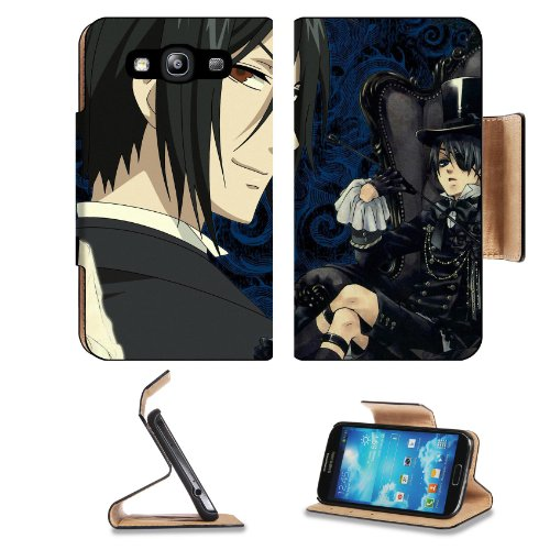 Kuroshitsuji Black Butler Group Collection 03 Samsung Galaxy S3 I9300 Flip Cover Case With Card Holder Customized Made To Order Support Ready Premium Deluxe Pu Leather 5 Inch (132Mm) X 2 11/16 Inch (68Mm) X 9/16 Inch (14Mm) Liil S Iii S 3 Professional Cas
