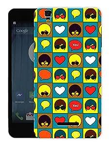 "Humor Gang Retro Heads Printed Designer Mobile Back Cover For ""Yu Yureka Plus"" (3D, Matte, Premium Quality Snap On Case)"