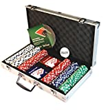 Ambassador ProPoker 300 11.5g Poker Chips in Aluminum Case with DVD